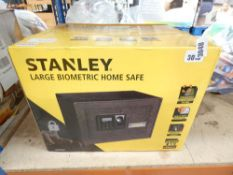 3015 Boxed Stanley large biometric home safe