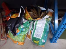 4060 Qty of bags of burning wood