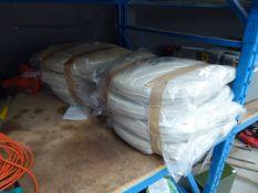 4057 Qty of seat cushions