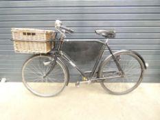 Pashley vintage butchers style bike