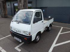 (2000) Daihatsu Hijet 1300 16v EFI pickup, 5 speed manual, petrol, showing 30,000 miles, MOT expires
