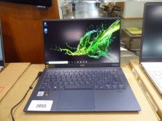 Acer Swift 5 laptop intel core i7 10th gen processor, 16gb ram, 512gb hdd, Windows 10 installed,