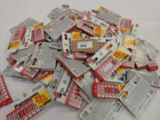 Bag containing quantity of Panasonic AA battery packs