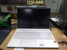 HP laptop core i7 10th gen processor, 16gb ram, 500gb hdd, Windows 10 installed, includes power
