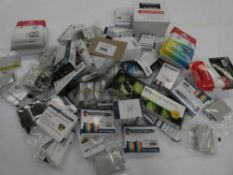 Bag containing quantity of various printer ink cartridges