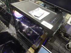 CyberPower gaming desktop PC Ryzen 5 3600 CPU, 16gb ram, 256gb hdd with backup 2tb hdd, RTX 2060