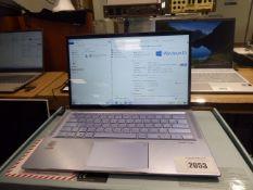 Asus UX431F laptop core i7 10th gen processor, 8gb ram, 500gb hdd, Windows 10 installed, includes
