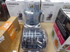 Kenwood multi pro mixer with attachments
