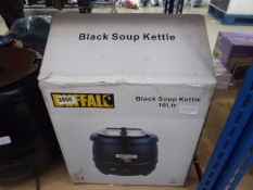 Buffalo black soup 10 ltr kettle