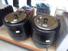 2 unboxed buffalo black soup 10 ltr kettle