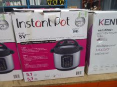 Instant pot multi-use pressure cooker