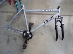 4 assorted bike frames