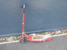 4038 Red Razor electric scooter