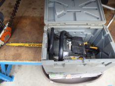 4056 Boxed Ryobi petrol powered chainsaw