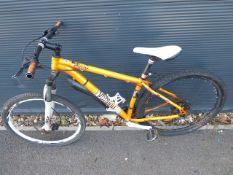 Orange Voodoo gents mountain cycle