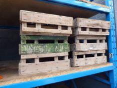 8 potato crates