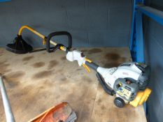 Ryobi petrol powered bent shaft strimmer