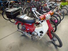 Jialing 50cc moped