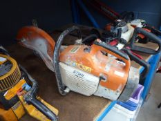 Sthil TS400 petrol powered disc cutter