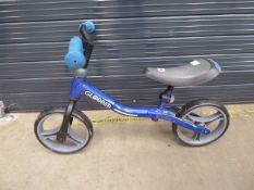 Small childs balance bike