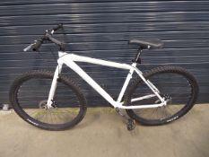 Diamond back white mountain bike