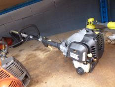 Titan petrol powered bench shaft strimmer