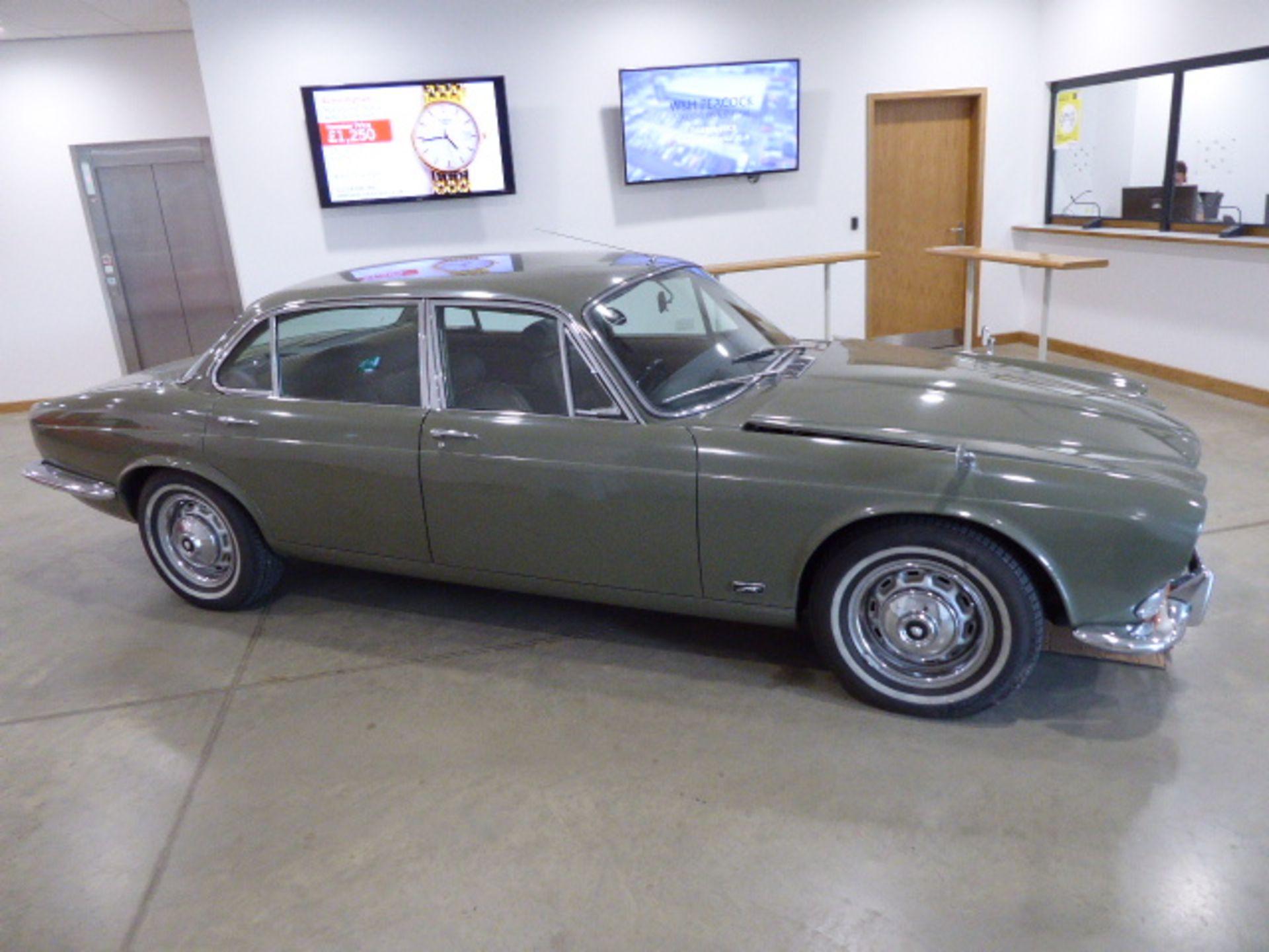 Lot 4001 - RXF 914L (1973) A sought after LWB 1973 Jaguar Series 1 XJ12, Automatic, Taxation class Historic