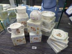 15 items of Royal Albert World of Beatrix Potter themed collectables to include money boxes,