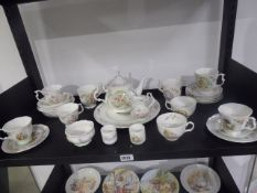 Approximately 20 or more Royal Albert Beatrix Potter themed ceramics and other collectables to