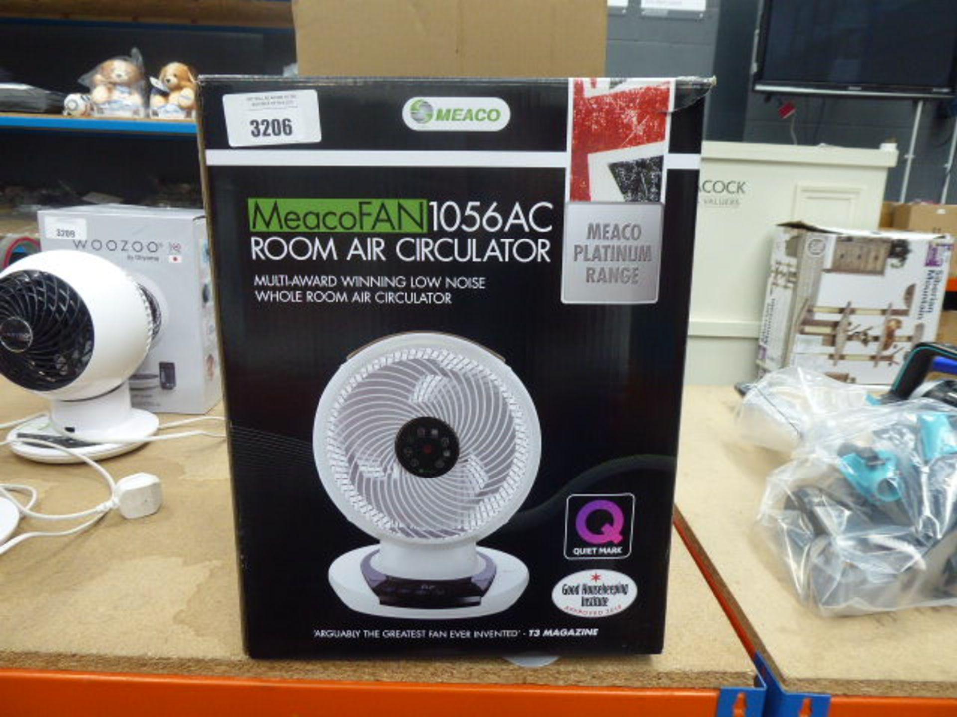 Lot 3206 - Room air circulator fan