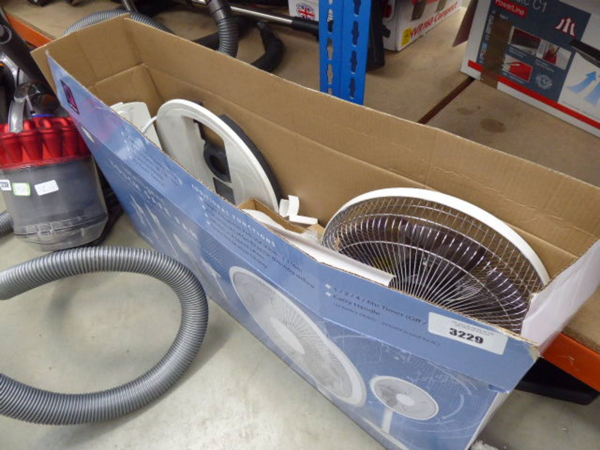Lot 3229 - (38) Intelligent touch safe fan with box