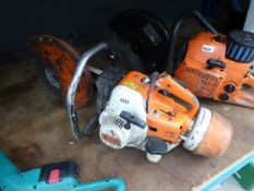 Stihl petrol-powered disc cutter