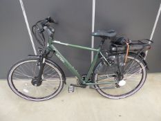 Green Vitesse Motion gents electric bike, with charger