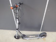 Razor electric scooter, with charger