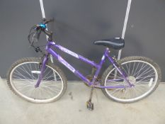 4027 Pink & blue girls mountain bike