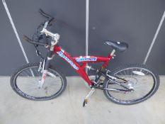 4033 Red Ammaco boys bike