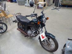 Yamaha Green 50cc motorbike