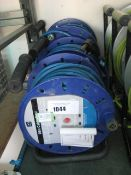 2 Masterplug 25m cable reels with 45m cable reel