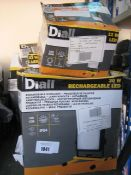 Quantity of various wattage Diall LED work lights
