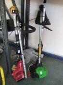 Homelite petrol powered strimmer