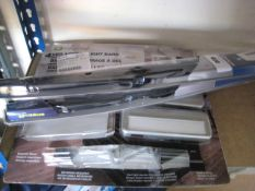 2 Michelin Stealth wiper blades with 2 LED accent light bars