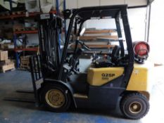 Doosan Daewoo G25 P3 LGP counter balance Forklift Truck with FFT triple mask to 3.2m, Year 2006