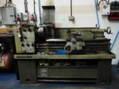 Harrison M300 Gapbed lathe, 180mm swing x 1m BC, with Chucks & Face plate