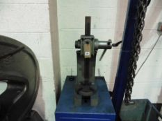 Mandrell Press and stand