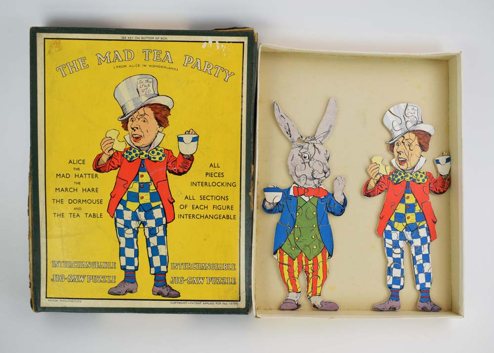 An Alice in Wonderland The Mad Hatter Party interchangeable jigsaw by J. Salmon Ltd. - Image 5 of 6