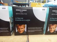 Gordon Ramsay made by Royal Doulton dinnerware set