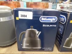 Delonghi scolpito electric kettle