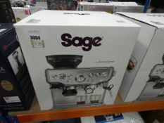 (63) Boxed Sage Barista coffee machine