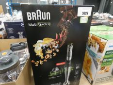 (59) Boxed Braun Multi Quick 9 hand whisk