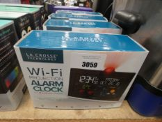 4 wifi projection alarm clocks